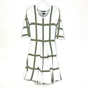Ashley Stewart Fit & Flare Knit Dress size 14/16w
